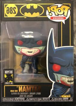 Funko POP Red Rain Batman Mint Box