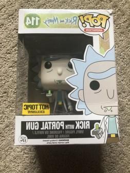 Funko Pop Rick and Morty Rick with Portal Gun Hot Topic Excl