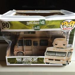Funko Pop Rides Breaking Bad THE CRYSTAL SHIP Brand New But