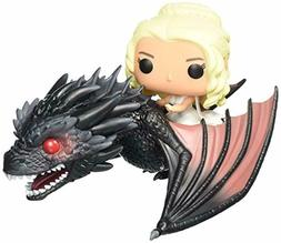 Funko POP Rides: Game of Thrones - Dragon Daenerys Action Fi