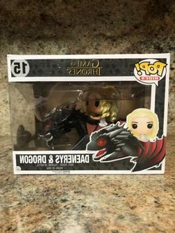 Funko Pop! Rides: Game Of Thrones Dragon & Daenerys Vinyl Ac