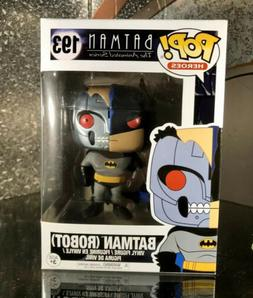 Funko Pop Robot Batman Mint Nib  Batman Animated Series
