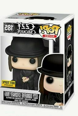 Funko Pop Rocks Ozzy Osbourne Ordinary Man Hot Topic Exclusi