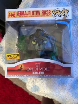 Funko Pop! Scar W/ Flames #544 Disney The Lion King Deluxe H