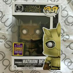 Funko Pop! SDCC 2017 Game of Thrones The Mountain Armoured #