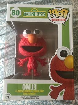 Funko Pop Sesame Street Elmo #08 vinyl figure RARE VAULTED w