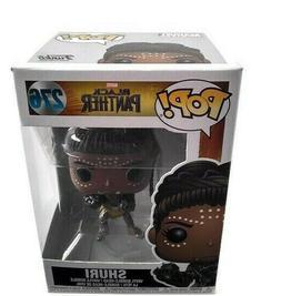 Funko Pop Shuri 276 Black Panther Marvel Bobble Head Vinyl F