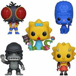 FUNKO POP! SIMPSONS TREEHOUSE OF HORRORS - HOMER, MARGE, BAR
