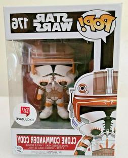 Funko Pop! Star Wars #176 Clone Commander Cody Walgreens Exc