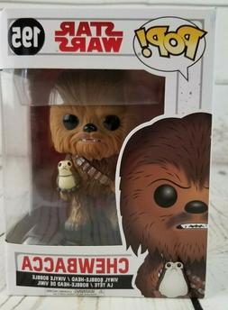 Funko Pop Star Wars #195 Chewbacca Bobble Head Vinyl Figure