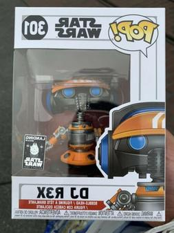 Funko Pop Star Wars #301 DJ R3X Disneyland Galaxy's Edge Exc