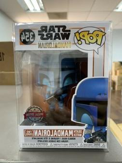 Funko Pop Star Wars 354 Death Watch Mandalorian Two Stripes