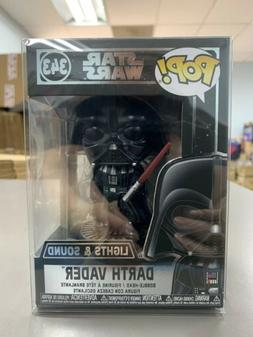 Funko Pop Star Wars Darth Vader Electronic #343 w/ Protector