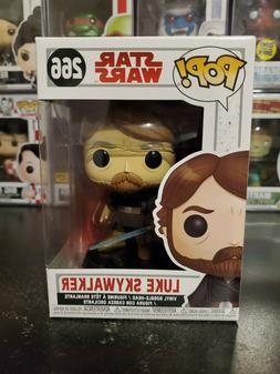 Funko Pop! Star Wars Luke Skywalker #266 Vinyl Bobblehead WI