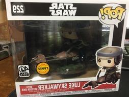 Funko Pop Star Wars Luke Skywalker With Speeder Bike 229 CHA
