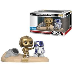Funko POP! Exclusive Star Wars: Movie Moments - R2-D2 and C-