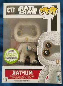 Funko Pop! Star Wars Muftak #173 2017 Spring Convention EXCL
