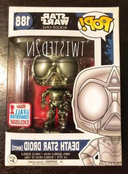 Funko Pop Star Wars Rogue One #188 White Death Star Droid NY