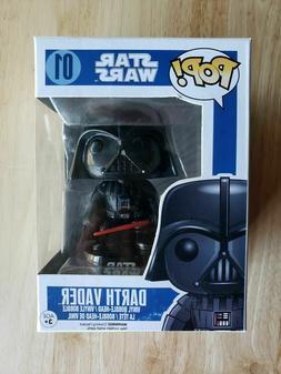 Funko Pop Star Wars Series 1 Darth Vader Vinyl Bobble-Head #