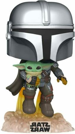 Funko Pop! Star Wars: The Mandalorian - Mandalorian Flying w