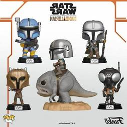 Funko Pop! Star Wars: The Mandalorian Vinyl Figures IN Stock