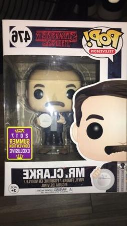 Funko Pop Stranger Things Mr Clarke 476 2017 Summer Conventi