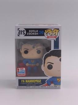 Funko Pop! Superman #1 215 Fall Convention 2017 Exclusive