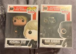 Funko Pop Tate Langdon #168 & Rubber Man #169 Vaulted FX Ame