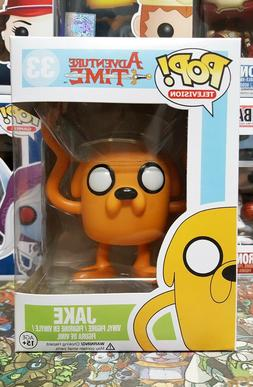 Funko Pop Television Adventure Time Jake #33 Vaulted Mint