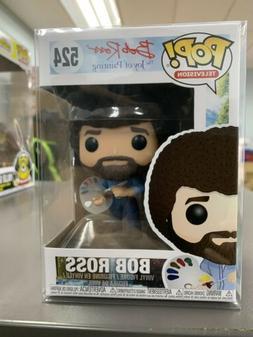 Funko POP! Television BOB ROSS Figure #524 w/ Protector