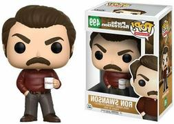 Funko Pop Television: Parks and Recreation - Ron Swanson Fig