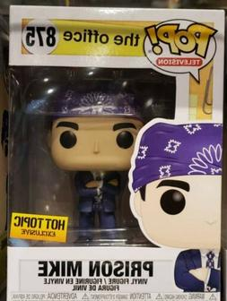 Funko POP Television THE OFFICE PRISON MIKE HOT TOPIC Exclus