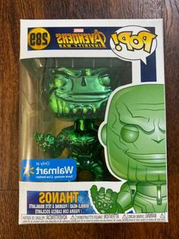 Funko Pop Thanos Chrome Green #298 Marvel Walmart Exclusive