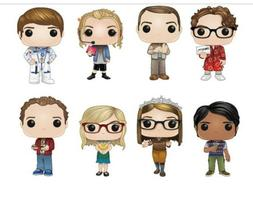 Funko POP! The Big Bang Theory - Bundle  of all 8 figures PR