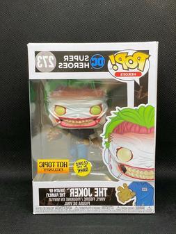 Funko POP! The Joker  #273 DC Super Heroes GITD Hot Topic