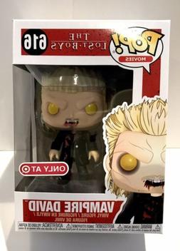 Funko Pop! The Lost Boys Vampire David #616 & Protector -- T