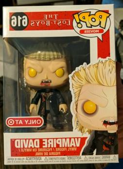 FUNKO POP! THE LOST BOYS VAMPIRE DAVID TARGET EXCLUSIVE BRAN
