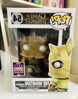Funko POP! The Mountain Armored #54 SDCC 2017 Shared Exclusi