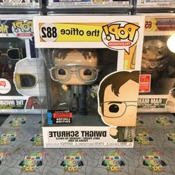 Funko Pop! The Office Dwight Schrute with Bobblehead NYCC Ex