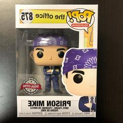 FUNKO POP THE OFFICE PRISON MIKE EXCLUSIVE HOT TOPIC *IN HAN