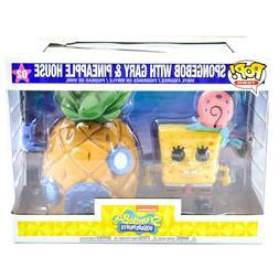 Funko Pop! Town Spongebob Squarepants with Gary & Pineapple