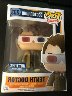 Funko Pop! TV Doctor Who Tenth Doctor with 3D Glasses #233 H
