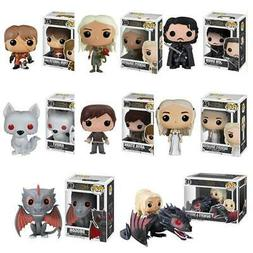 Funko pop TV: Game of Thrones-Daenerys-Night King-Grey worm-