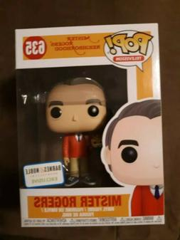 FUNKO POP TV Mr Rogers with Puppet #635 B&N Exclusive w/ sof