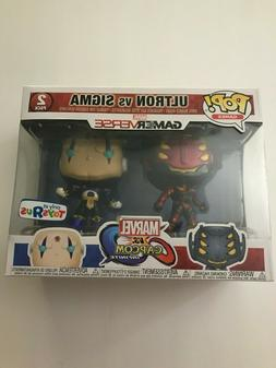 Funko Pop Ultron vs Sigma 2 pack Marvel vs. Capcom Toys R Us