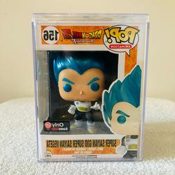 Funko Pop Vegeta Metallic 156 Super Saiyan God Vegeta Metall
