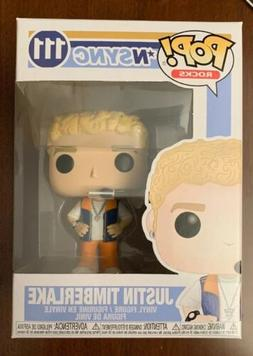 Funko Pop! Vinyl Figure-Rocks:Boy Band *NSYNC-JT-JUSTIN TIMB