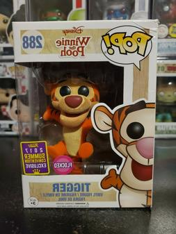 Funko Pop Winnie the Pooh Flocked Tigger #288 2017 SDCC Excl