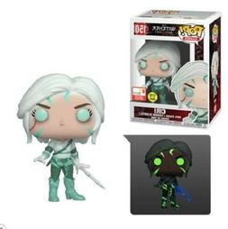 Funko Pop! Witcher: CIRI Glow in the Dark Shared E3 Exclusiv