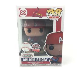 Funko Pop! Yadier Molina #33 MLB St. Louis Cardinals - Busch